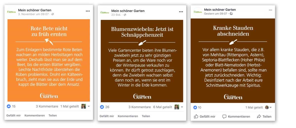 Facebook Tipps für Anleitungen und Hilfe Postings