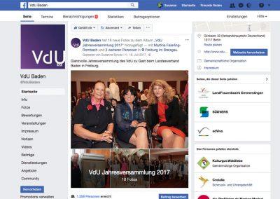 Verband deutscher Unternehmerinnen / LV Baden