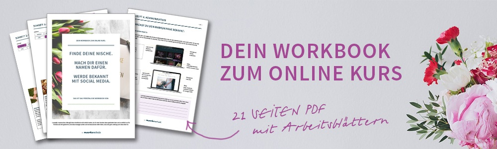 markeschulz Online Kurs Floristen Workbook